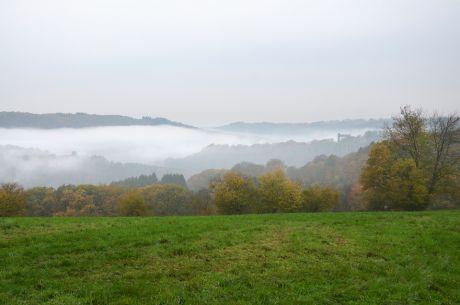 Hohenscheid am 8. November 2017: vormittags bei schlappen +7°C
