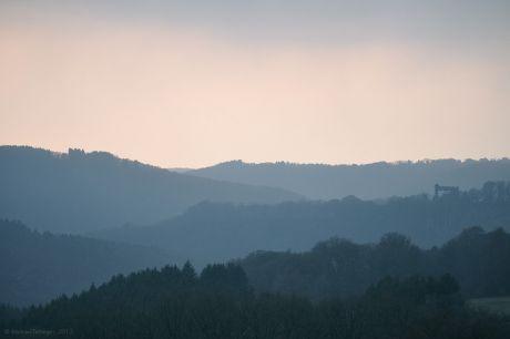 Haus Hohenscheid (30.03.2013 kurz vor Sonnenuntergang)