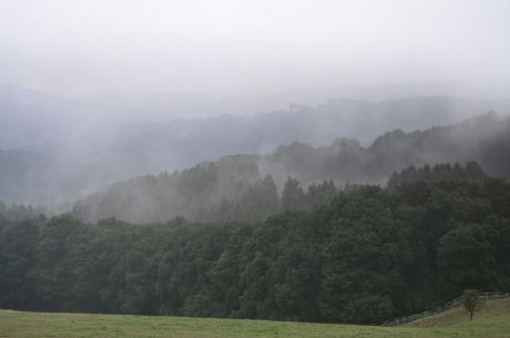 Hohenscheid am 12. August 2016: Nebel