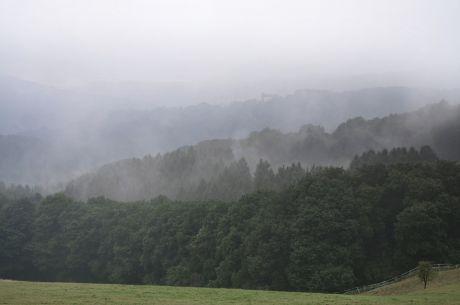 Hohenscheid am 12. August 2016: Nebel