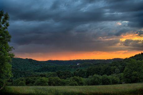 Sonnenuntergang Hohenscheid am 20. Mai 2015