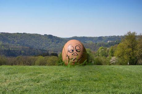 Wenn das Ei sich erhebt ...