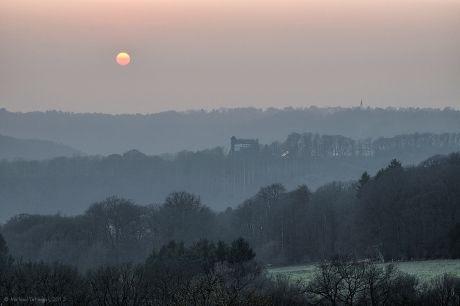 Haus Hohenscheid - Sonnenuntergang
