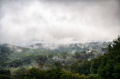 Hohenscheid im Nebel
