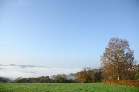 Hohenscheid unter Nebel