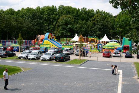 Hüpfburgenland am Weyersberg: 2011
