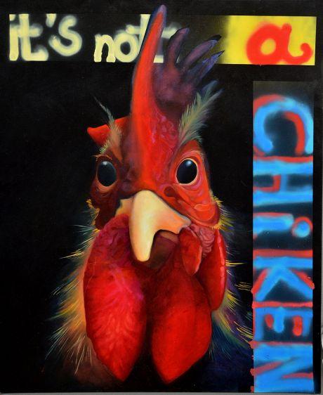 it's not a chicken