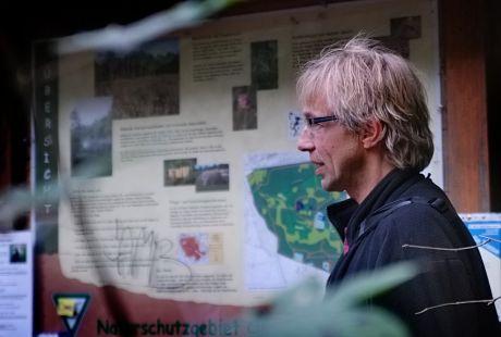 Jan Boomers, Leiter der Biologischen Station Mittlere Wupper