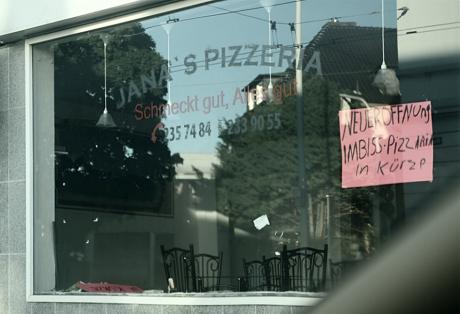 Neueröffnung, Imbiss, Pizzaria: In Kürze