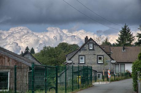 Wolken-Lawine