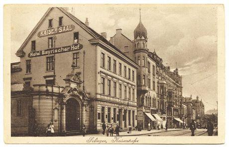 Kaiserstraße: Verlag Wilhelm Fülle, Barmen (vor 1929)