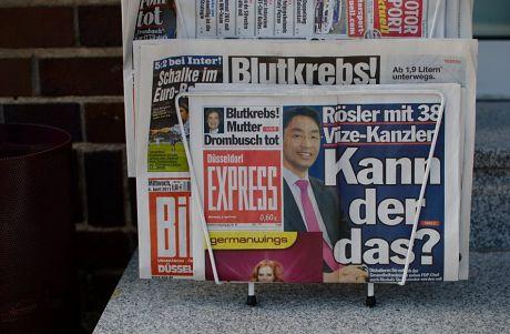 Boulevardzeitung: Foto vom 6.4.2011