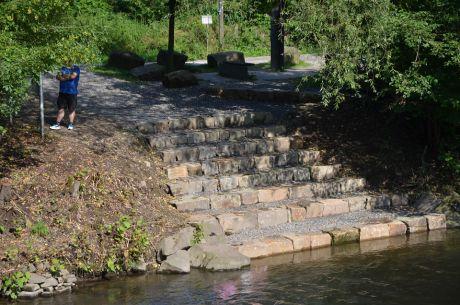 Kanueinstieg in Wupperhof