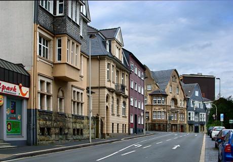 Katternberger Straße am Dickenbusch: (September 2010)