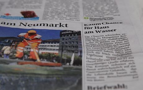 Haus am Wasser: Kaum Chancen, Solinger Tageblatt am 30. Mai 2009