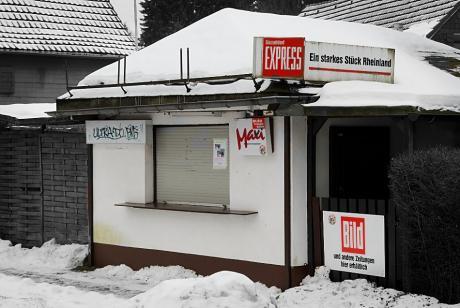 Kiosk: Schaberger Straße