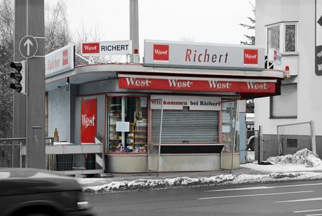 Kiosk Richert: am Bahnhof Solingen-Mitte