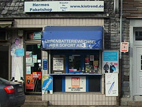 Boxenstop: an der Neuenhofer Straße    (Foto: Frau Meyer)