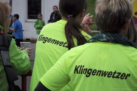 Die Klingenwetzer: Teilnehmer am Klingenlauf im Südpark