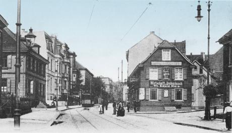 Wirtschaft Dickenbusch um 1905