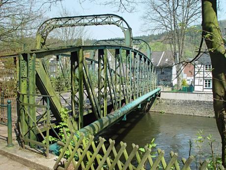 Kohlfurther Brücke: im April 2005