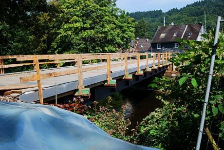 Brücke Kohlfurth: Der Neubau gedeiht