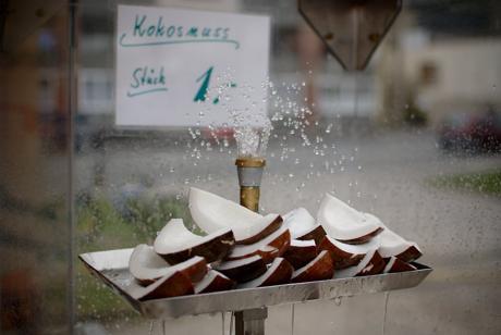 Kokosnuss: Stück 1 Euro