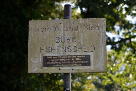 Komm und Sieh: Burg Hohenscheid