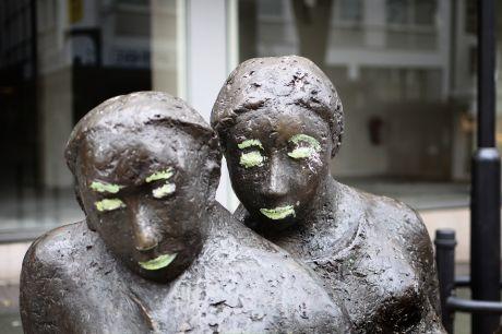 Das lesende Paar: von Gerda Kratz