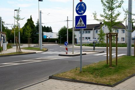 Zebrastreifen Siebels: Damit beendet Solingen seine zebrastreifenfreie Epoche
