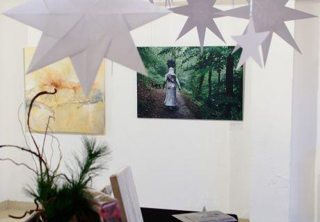 Liewerfrau auf Abwegen: im Atelier Künstlerpack