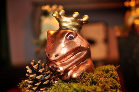 Froschkönig in Kupfer: so eine Art Faradayscher Käfig