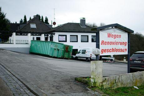Wegen Renovierung geschlossen: Das ehemalige Landhaus Pfaffenberg, noch ältere kennen es als Haus Haus Feldmann oder Haus Wiedenhoff