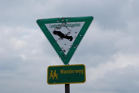 Landschaftsschutzgebiet: Wanderweg