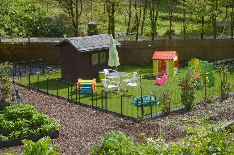 Laufstall / Garten