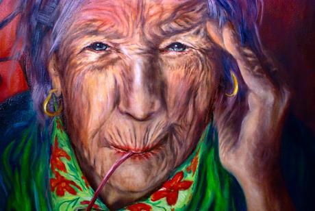 Täglich ein Schluck Lebenslust: (Ausschnitt aus einem Porträt von Lara Leon-Ser)