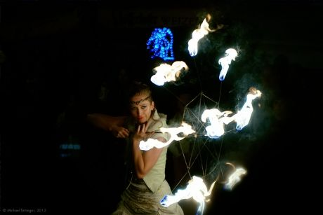 Lenn Flam - Feuertanzperformance