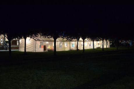 Lichterzelt im Südpark