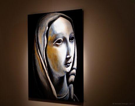 Madonna: Gemälde von Theresia Hebenstreit