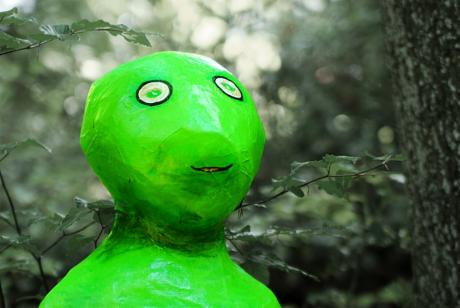 Der Mars und seine Männchen: Künstler: Regine Evertz