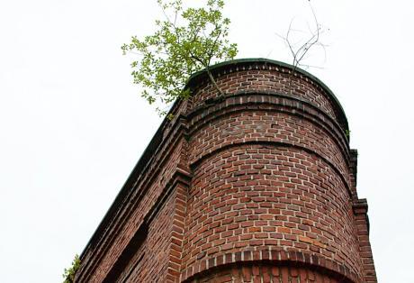 Mauerwerk der Firma Rasspe in Stöcken