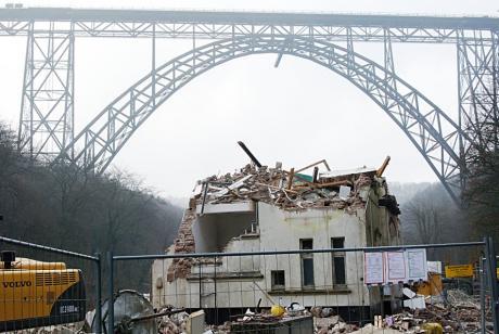 Müngstener Brücke: im Dezember 2008