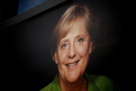 Und täglich grüßt das Murmeltier: (Ausschnitt aus einem Wahlplakat der CDU zur Bundestagswahl 2009)