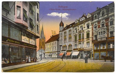 Cölner Straße - Mühlenplätzchen: Postkarte aus dem Jahre ? Verlag ?