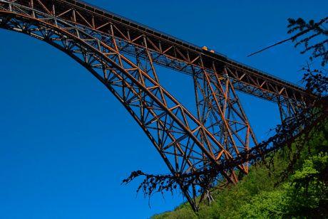 reifende Müngstener Brücke
