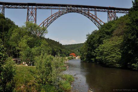 Müngstener Brücke vor der Renovierung