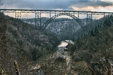 Müngstener Brücke: vom Diederichstempel aus gesehen