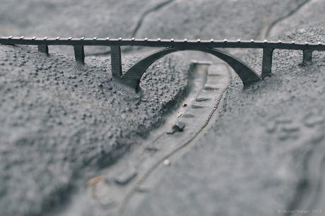Müngstener Brücke, ertastbar
