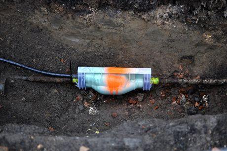 Muffe im Untergrund: für das Netz der Zukunft