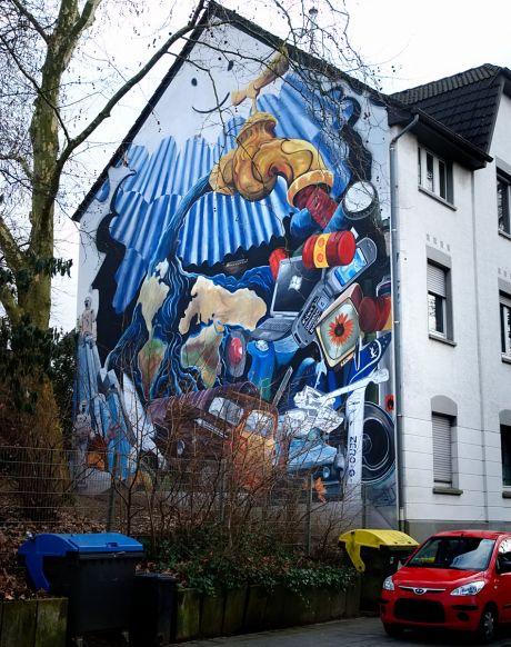 Wandgemälde - Mural